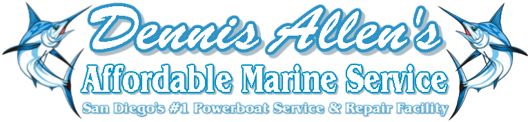 Dennis Allens Affordable Marine Service Logo NS cr 768-178